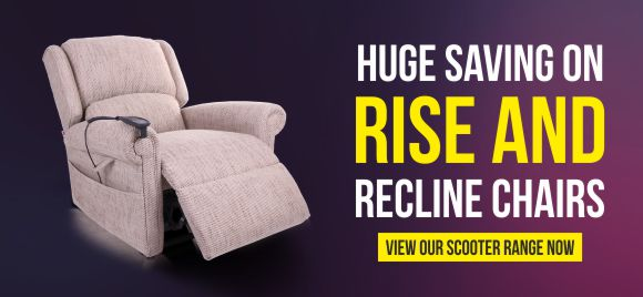 Rise and Recline Chair Sale NEW